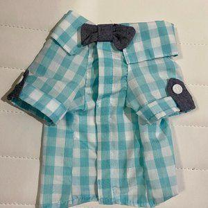 Martha Stewart Shirt with Bow Tie -Dogs